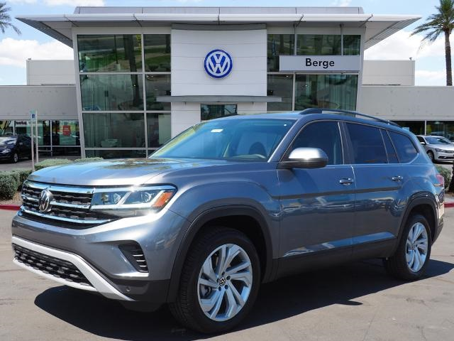 New 2021 Volkswagen Atlas 3.6L V6 SE w/Technology
