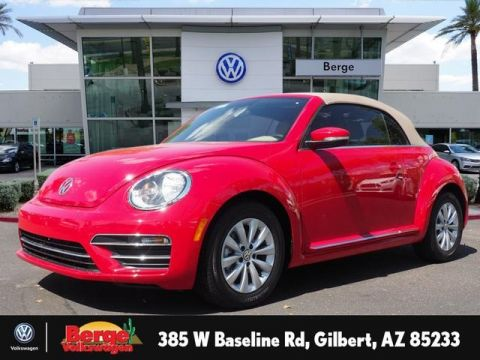 New Volkswagen Beetle Convertible in Gilbert | Berge Volkswagen